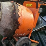 Building site equipment.