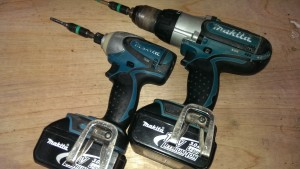 Cordless power tools.