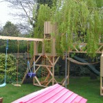 Adventure play frame.