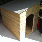 Dog kennel.